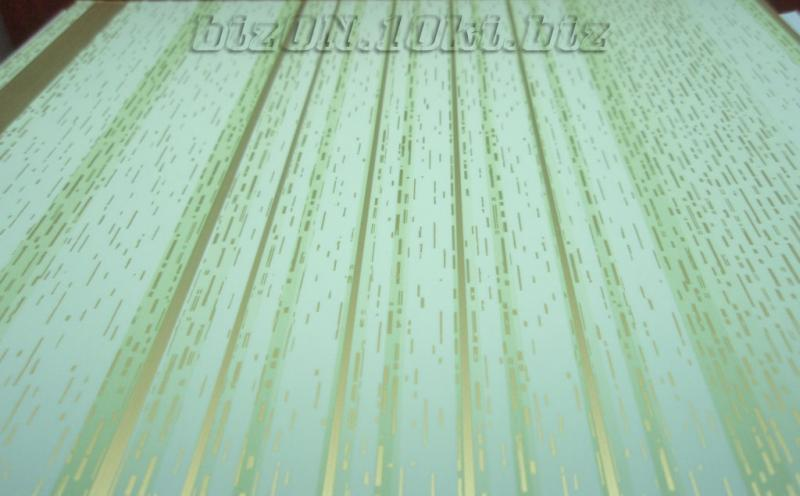 Фото Товара НЕТ в наличии «ФИСТАШКОВЫЕ НИТИ»   Пластиковые панели ПВХ   (Термоперевод)   «RIKO»