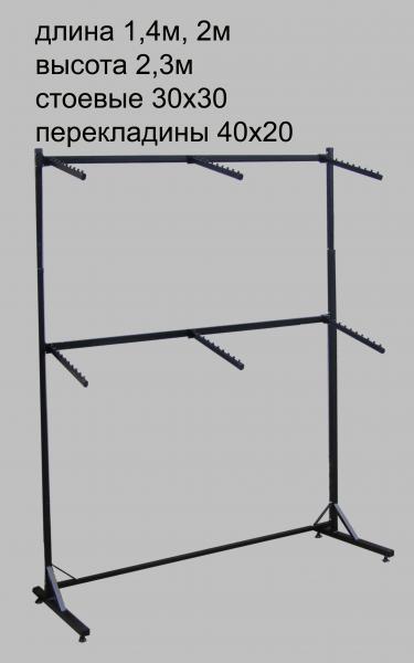 """Стойка  """"пристенная"""" 1.4 метра"""