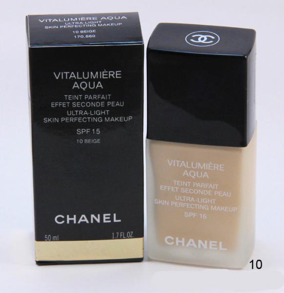 Тональный крем - Chanel Vitalumiere Aqua №10-№40