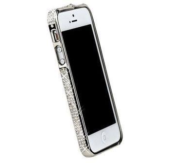 Бампер Металлический Для IPhone 5 Со Стразами