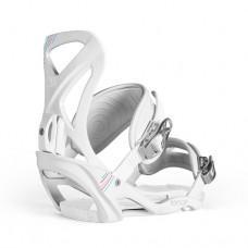 Сноуборд крепления NIDECKER 2013-14 Fancy white