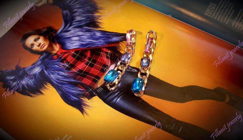Серьги Elegant Multicolor