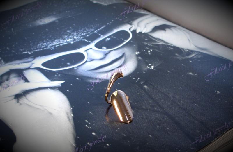Кольцо на фалангу Artilady с хвостиком