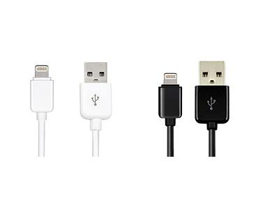 Dexim USB Cable For Apple Black&White