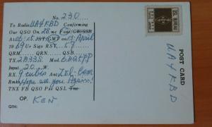 Фото антиквар, Открытки QSL карточка