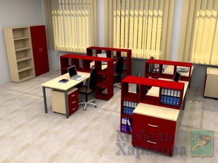 """Офисная мебель для персонала серия """"Колибри"""""""