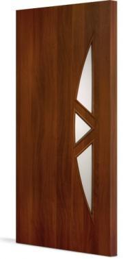 Межкомнатная дверь Тип С-1 остекленная