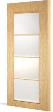 Межкомнатная дверь Тип С-8 (о) остекленная