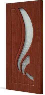 Дверь ПВХ Лиана ДО(остекленная)