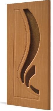 Дверь ПВХ  Лиана ДО(стекло Дельта)
