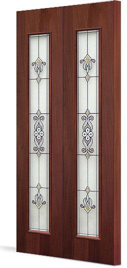 Межкомнатная складная дверь Тип С-21(х) Барроко
