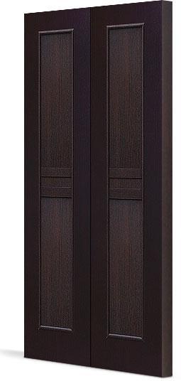 Межкомнатная складная дверь Тип С-23 (г) глухая