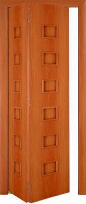 Межкомнатная складная дверь Тип С-9 (г) глухая
