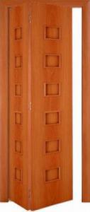 Фото Складные межкомнатные двери Межкомнатная складная дверь Тип С-9 (г) глухая