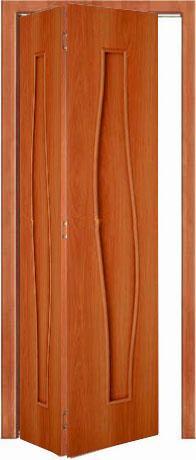 Межкомнатная складная дверь Тип С-10 (г) глухая