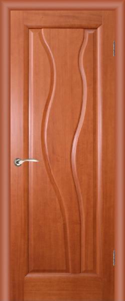 "Межкомнатная шпонированная дверь ""Торнадо"" (Г) глухая"