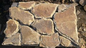 Фото  Камень песчаник со сколом