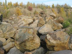 Фото  Валуны для ландшафтного дизайна