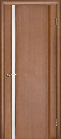 """Межкомнатная шпонированная дверь """"Техно-1"""" (О) остекленная"""