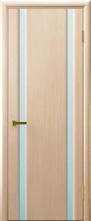 """Межкомнатная шпонированная дверь """"Техно-2"""" (О) остекленная"""