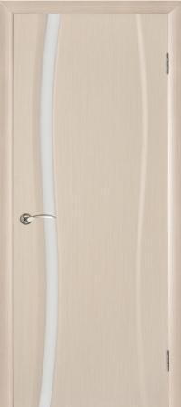 """Межкомнатная шпонированная дверь """"Диадема-1"""" (О) остекленная"""
