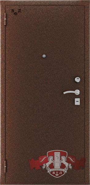 Металическая дверь ВФД «Стандарт» антик медь