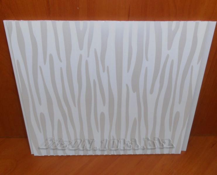 Фото Панели ПВХ «ЗЕБРАНО»   Пластиковые панели ПВХ   (Термоперевод)   «RIKO» коллекция «Divo»