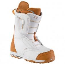 Фото Ботинки для сноуборда, BURTON 2013-14  Ботинки для сноуборда BURTON 2013-14 EMERALD WHITE/TAN