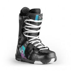 Фото Ботинки для сноуборда,  NIDECKER 2013-14  Ботинки для сноуборда NIDECKER 2013-14 Eva Lace black/blue
