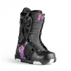Фото Ботинки для сноуборда,  NIDECKER 2013-14  Ботинки для сноуборда NIDECKER 2013-14 Eva Speed Lace black/pink