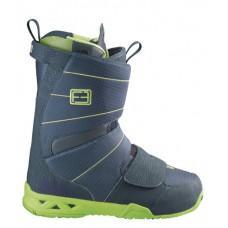 Ботинки для сноуборда SALOMON 2013-14 F3.0 LAKE/POP GREEN/LAKE