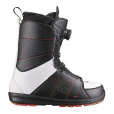 Ботинки для сноуборда SALOMON 2013-14 FACTION BOA BLACK/WHITE/RD