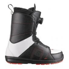 Фото Ботинки для сноуборда,  SALOMON 2013-14  Ботинки для сноуборда SALOMON 2013-14 FACTION BOA BLACK/WHITE/RD