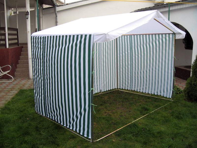 Палатка для торговли в сборе 1.5 х 2 м