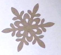 Снежинка 04