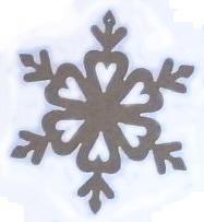 Снежинка 02
