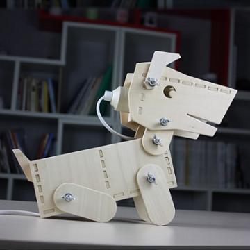 Лампа-Собачка