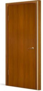 Фото Двери в комплекте с коробкой Эконом (строительные) Межкомнатная дверь ламинированная ДГ в комплекте