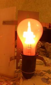 Фото антиквар, Родом из СССР Сувенирная лампа