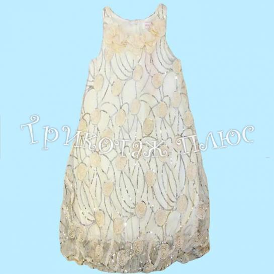 Платье для девочки (крем)
