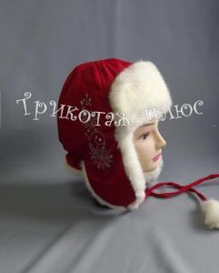 Фото Головные уборы, Зима Шапка  д/девочки  меховая