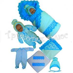 Фото Для малышей, Комплекты на выписку зима Комплект