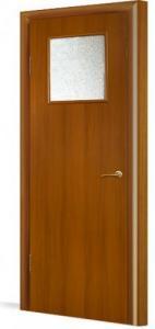 Фото Двери в комплекте с коробкой Эконом (строительные) Межкомнатная дверь ламинированная в комплекте 31(О)