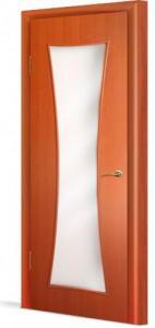 Фото Двери строительные Эконом с четвертью в комплекте Тип-73 с четвертью (О) Остекленная