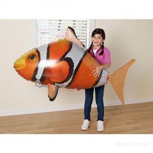 Фото Хобби и игрушки, Летающие рыбы Летающая Рыба Клоун
