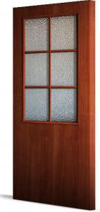 Фото Двери строительные Эконом  усиленые Межкомнатная дверь  усиленная ПВХ стекло «Бали»