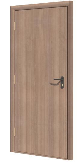 Дверь противопожарная в комплекте ДДПГ ламинатин (CPL)