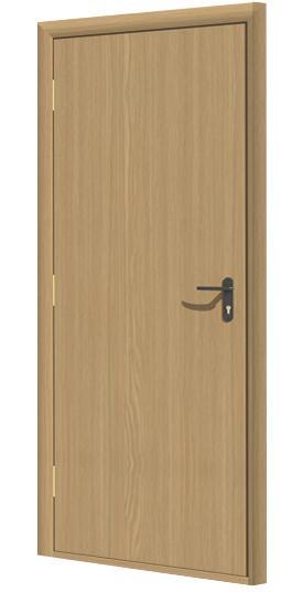 Дверь противопожарная в комплекте ДДПГ ПВХ