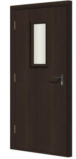Дверь противопожарная в комплекте ДДПО экошпон