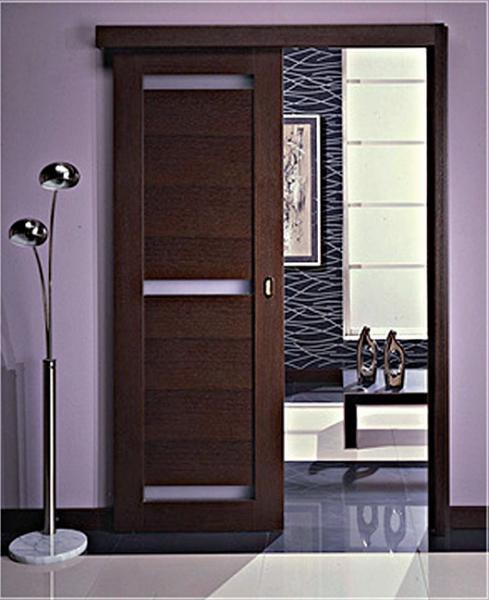 Межкомнатные раздвижные одностворчатые двери